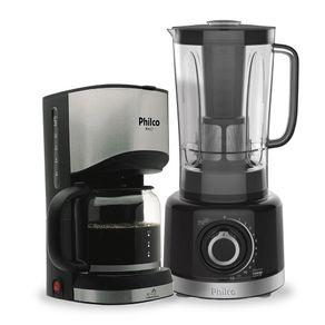 Kit-Liquidificador-PLQ1550-com-Cafeteira-Eletrica-15-Xicaras-PH17-Philco-Preta-127V