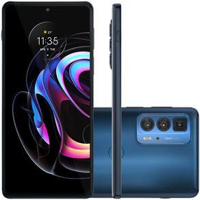 Celular Smartphone Motorola Edge 20 Pro Xt2153 256gb Azul - Dual Chip