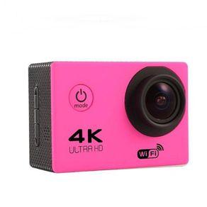Câmera Digital Sportscam Esportiva Rosa 12.0mp