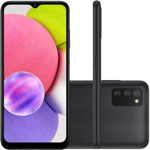 Celular Smartphone Samsung Galaxy A03s A037m 64gb Preto - Dual Chip